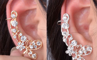 Сережка в одно ухо – как носить оригинальное украшение правильно
