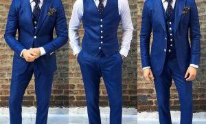С чем носить синие мужские брюки: фото подборка лучших образов