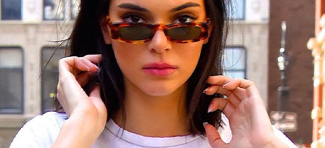 Узкие очки — стильный аксессуар