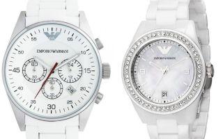 Белые часы – женские радости: элегантно, стильно и практично