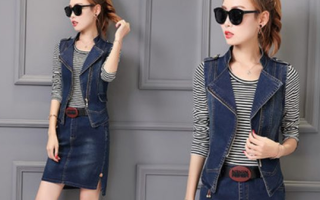 Жилет джинсовый: с чем носить и самые интересные комбинации