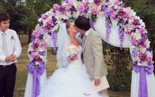 Свадьба в сиреневом цвете: фото примеры, как организовать и провести