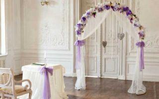 Как сделать свадебную арку своими руками: фото примеры, пошаговая инструкция