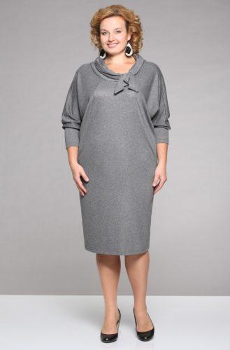 554264e999b Красивое зимнее платье может быть выполнено из шерстяной ткани