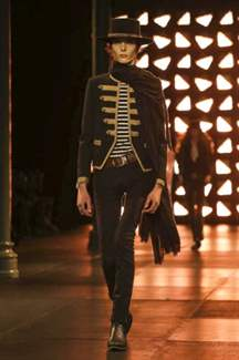 Saint Laurent, Menswear Spring Summer 2015 Fashion Show in Paris