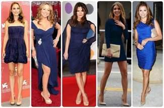6bd791c0cdb Желтые и красные. Сочетать платья синего цвета с яркими цветами туфель ...