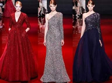 7a0f3d79264 В наступившем году модные дизайнеры не стали экспериментировать с длинной  вечернего платья — наряды в пол сохранят свою актуальность и на этот раз.