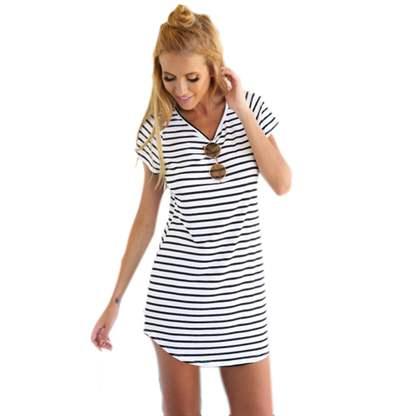 4e3e1f5e429dcd8 С чем носить платье в полоску - создаём идеальный лук