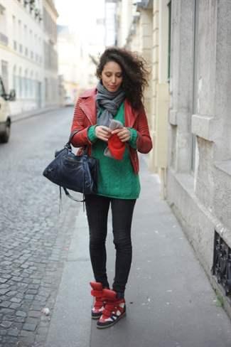 wearing-isabel-marant-red-blue-bekket-sneakers