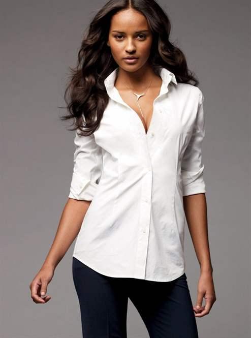4da758b5b5e С чем носить белую рубашку - деловой стиль и стиль casual