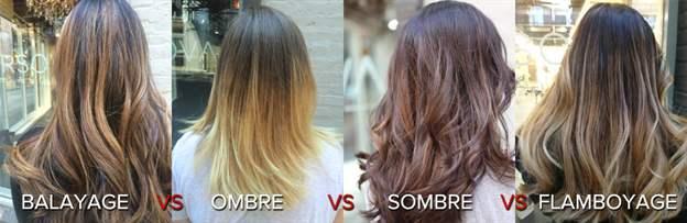 Tehnike farbanja kose – ombre, sombre, balejaž, flambojaž