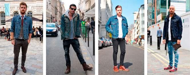 ceb8ed15b9d С чем носить мужскую джинсовую куртку - идеальный мужские луки