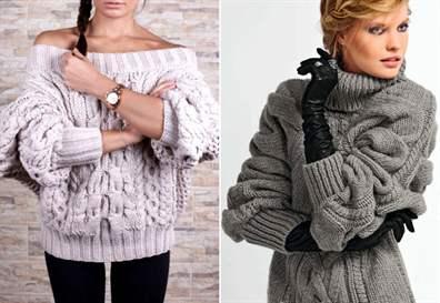 модное вязание спицами для женщин 2019 фото трендовых моделей с