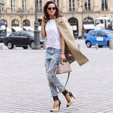 37e803aa5c1 Модные джинсы бойфренды 2019  фото новинок сезона