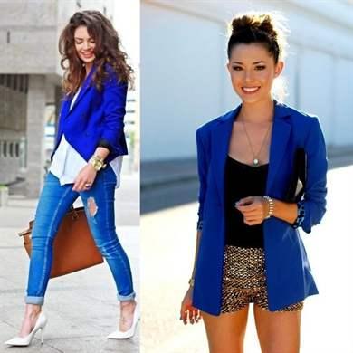 4298f2f07382 С чем носить синий пиджак: самые актуальные образы в 2107 году