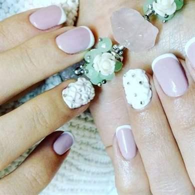 Коррекция ногтей акрилом в домашних условиях