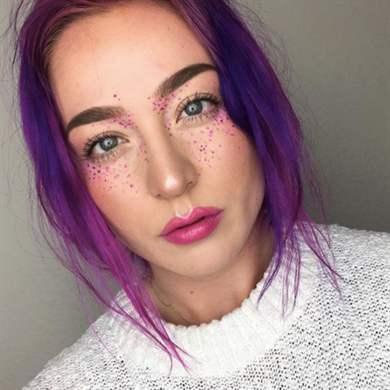 Как красиво нарисовать веснушки на лице