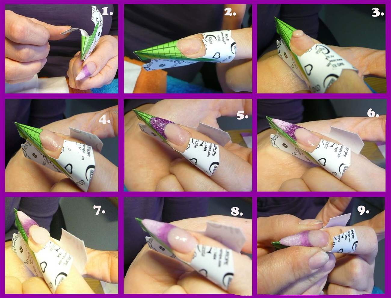Наращивание ногтей в домашних условиях для начинающих пошаго