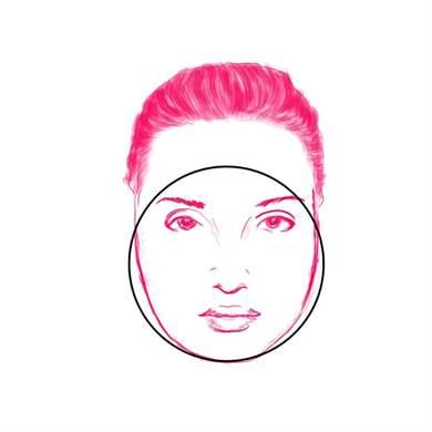 Шапка для круглого лица спицами