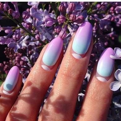 Дизайн ногтей омбре: модные тенденции и новинки 24 года