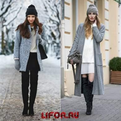 с какой шапкой носить пальто особенности советы модные образы