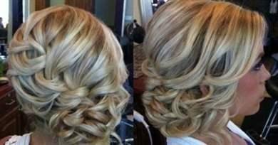 Стрижка волосы набок