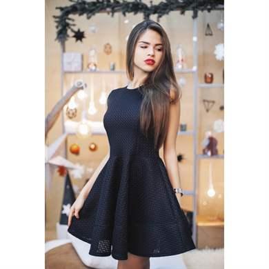 fcb2b4b9ba3 Платья для худых девушек  полезные советы и стильные образы