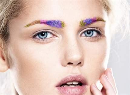 Чем покрасить брови в яркий цвет thumbnail